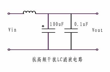 (3)针对高频开关电源的滤波,因电容器在高频状态下,可能承受安培级的