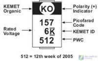 KEMET polymer tantalum capacitor