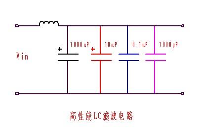 高性能lc滤波电路图
